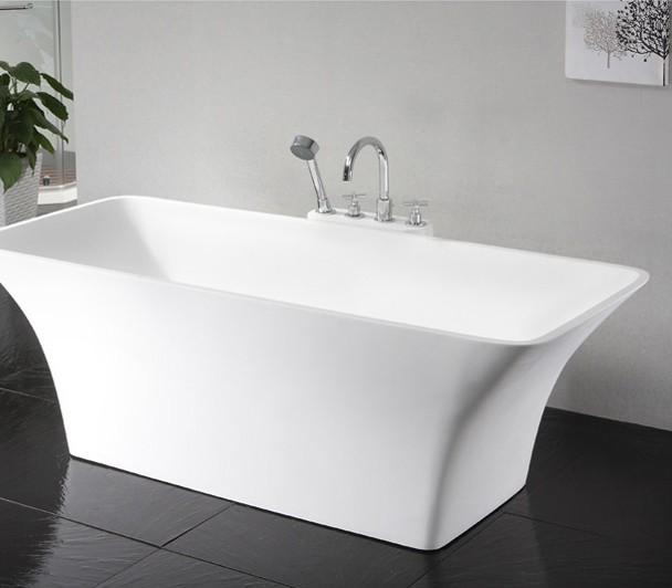 0901 freistehende design badewanne aus mineralguss art. Black Bedroom Furniture Sets. Home Design Ideas