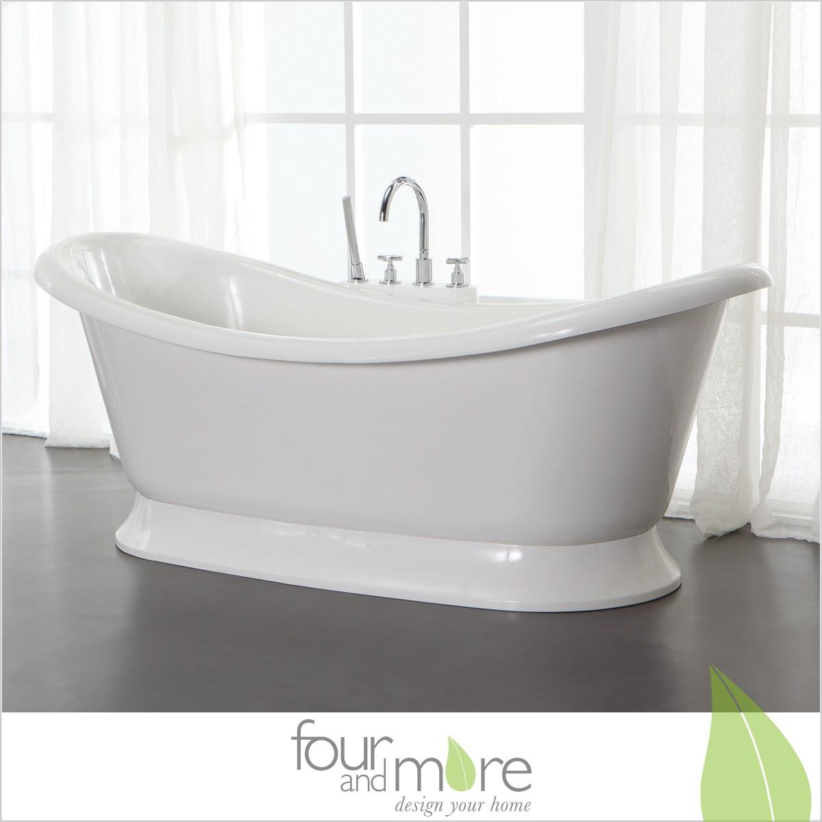 0909 freistehende design badewanne aus mineralguss art. Black Bedroom Furniture Sets. Home Design Ideas