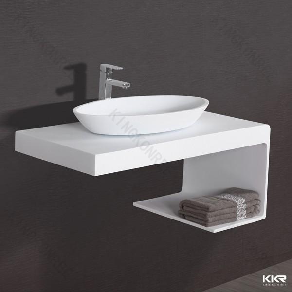 design aufsatzwaschbecken aus kunsstein in matt oder gl nzend modell 1305 ebay. Black Bedroom Furniture Sets. Home Design Ideas