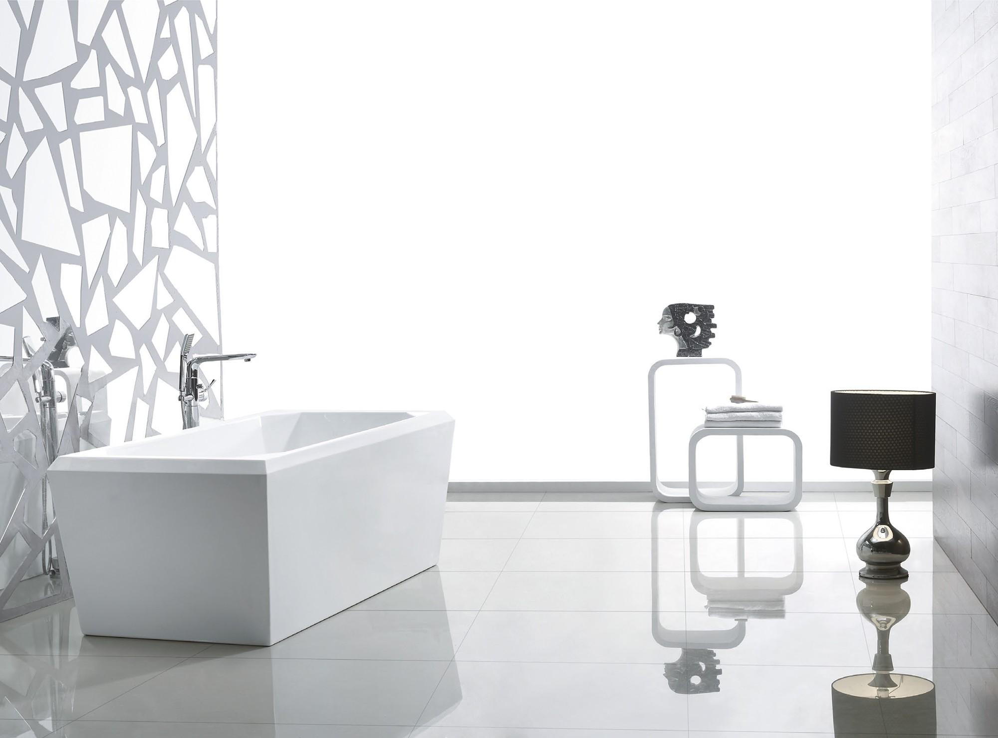 exclusive freistehende badewanne mit ab und berlauf neu ovp art nr 28012 ebay. Black Bedroom Furniture Sets. Home Design Ideas