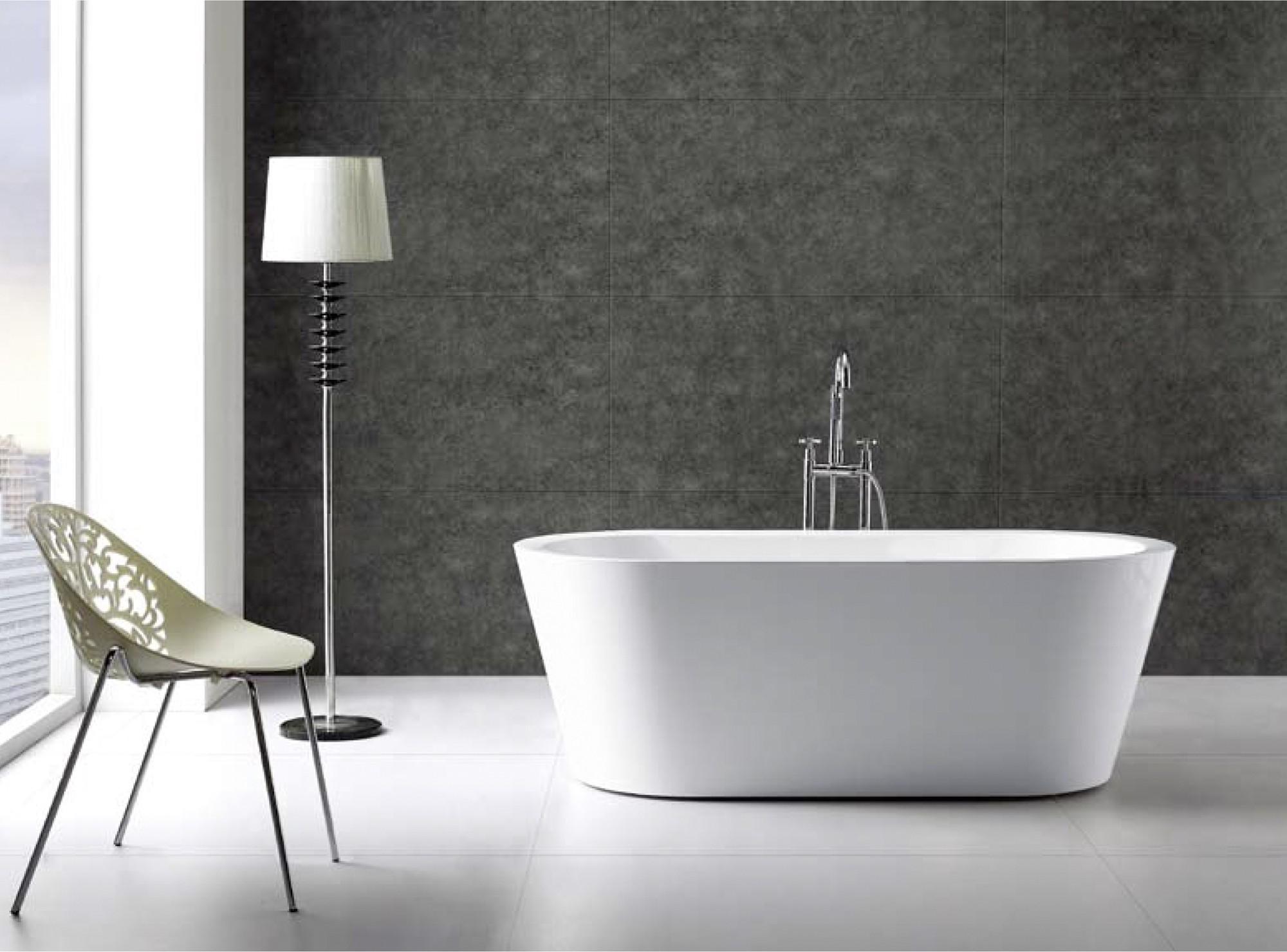 exclusive freistehende badewanne mit ab und berlauf neu ovp art nr 28014 ebay. Black Bedroom Furniture Sets. Home Design Ideas