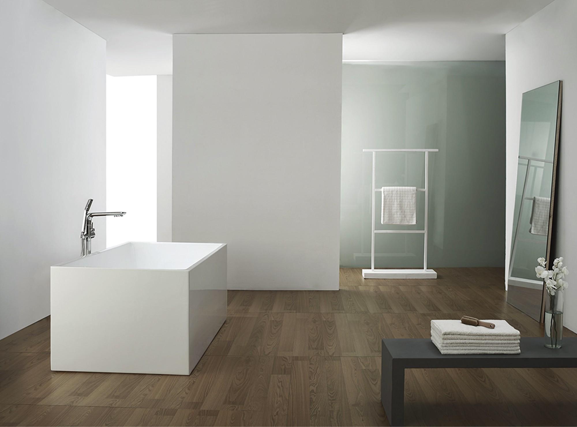 exclusive freistehende badewanne mit ab und berlauf neu ovp art nr 28008 ebay. Black Bedroom Furniture Sets. Home Design Ideas