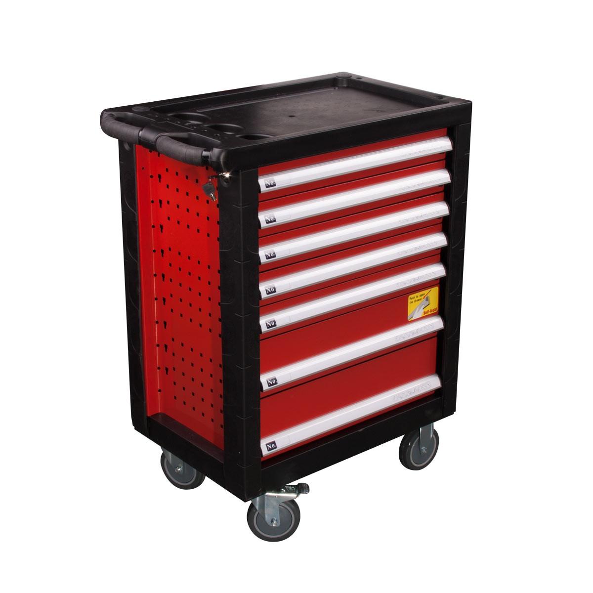Atenci n caja para herramientas con 7 cajonera incl carro for Cajon herramientas taller
