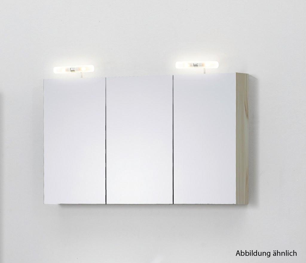 spiegelschrank 120 cm kernahorn badewelt badezimmer m bel