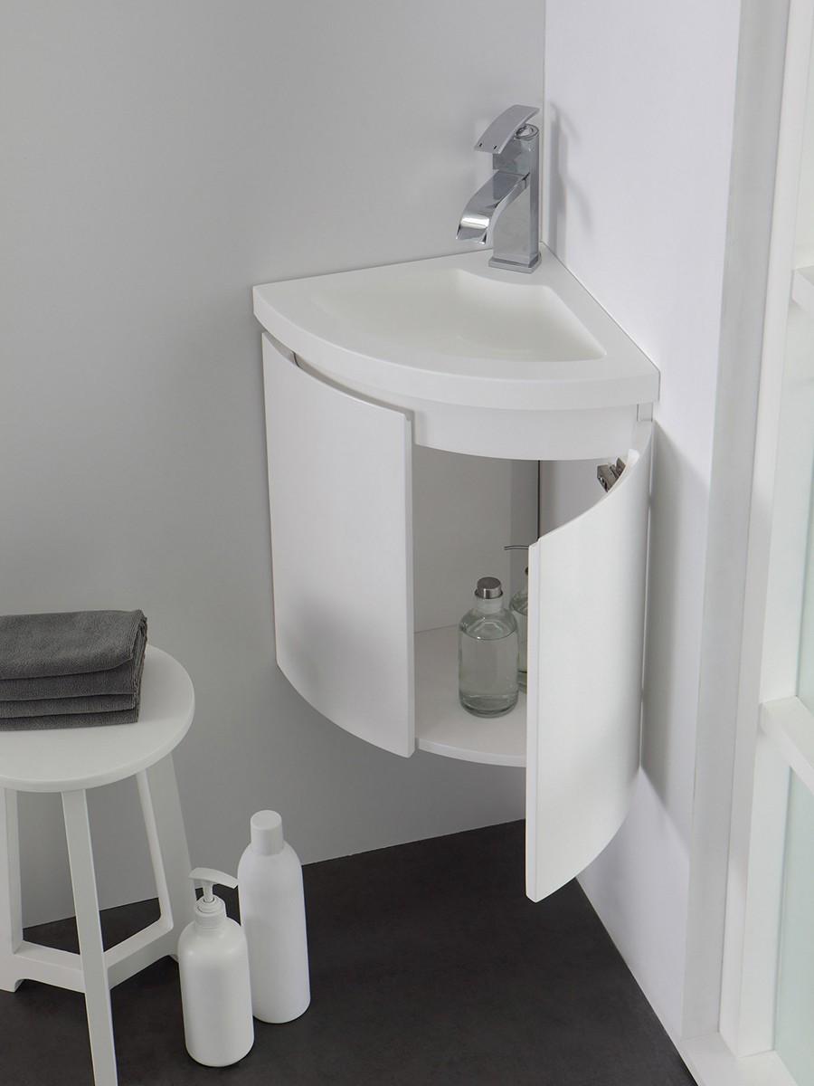 badset ecke badewelt badezimmer m bel. Black Bedroom Furniture Sets. Home Design Ideas