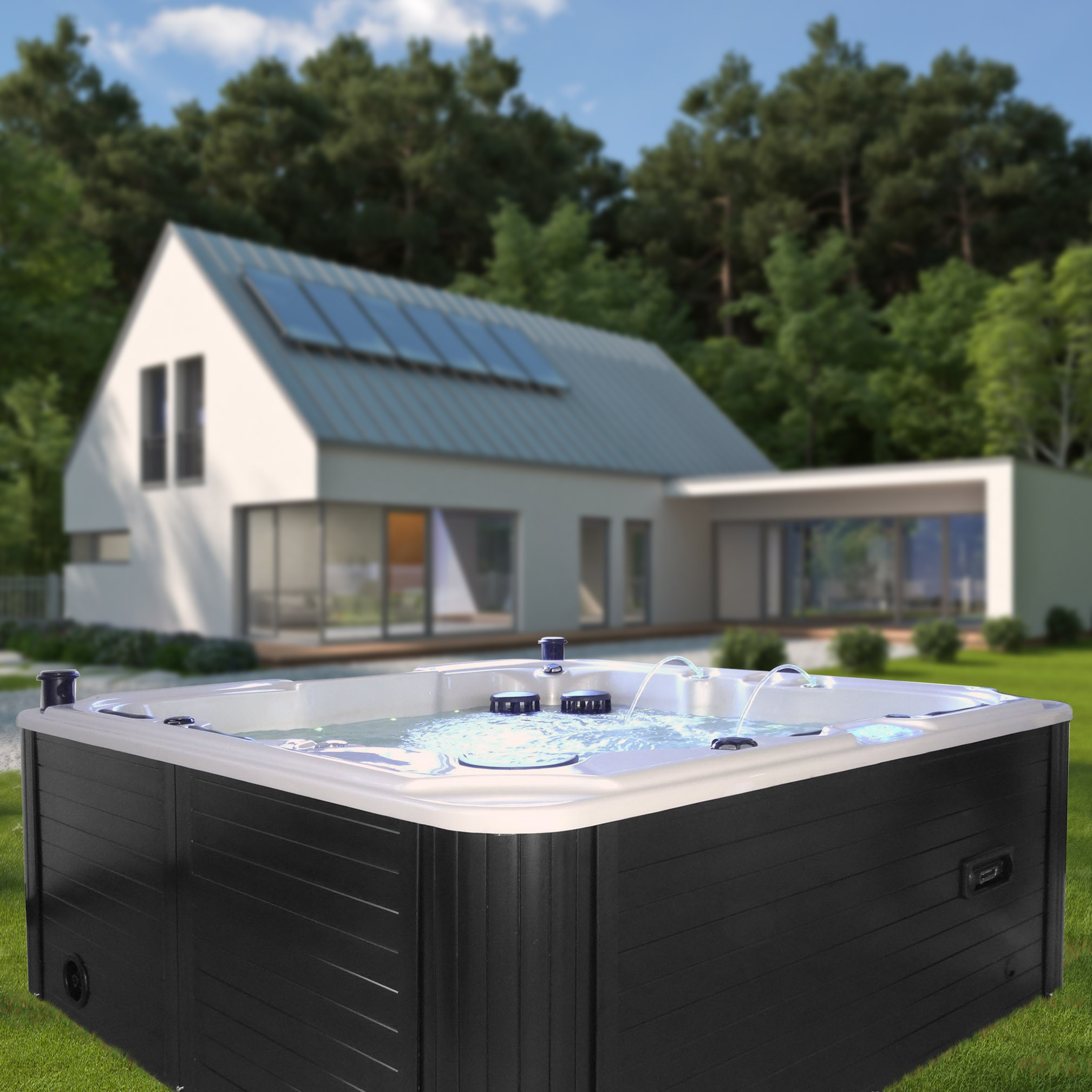 winteraktion aquaspring whirlpool 1803 badewelt aussenwhirlpools. Black Bedroom Furniture Sets. Home Design Ideas