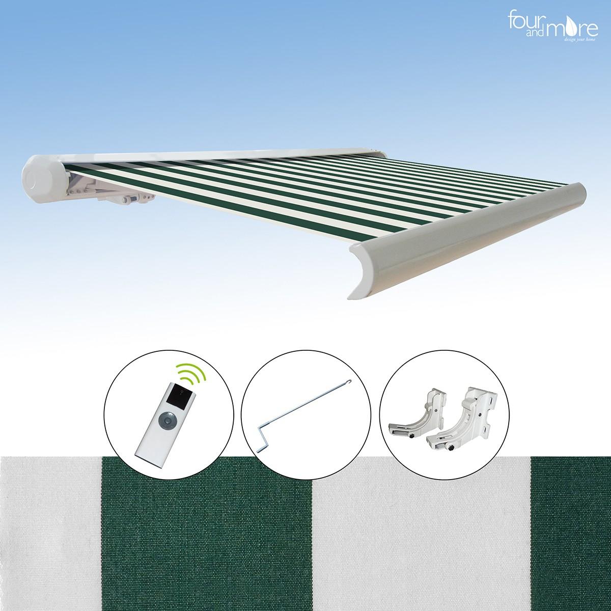 markise 3x2 5 m haus und garten garten sonnenschutz. Black Bedroom Furniture Sets. Home Design Ideas