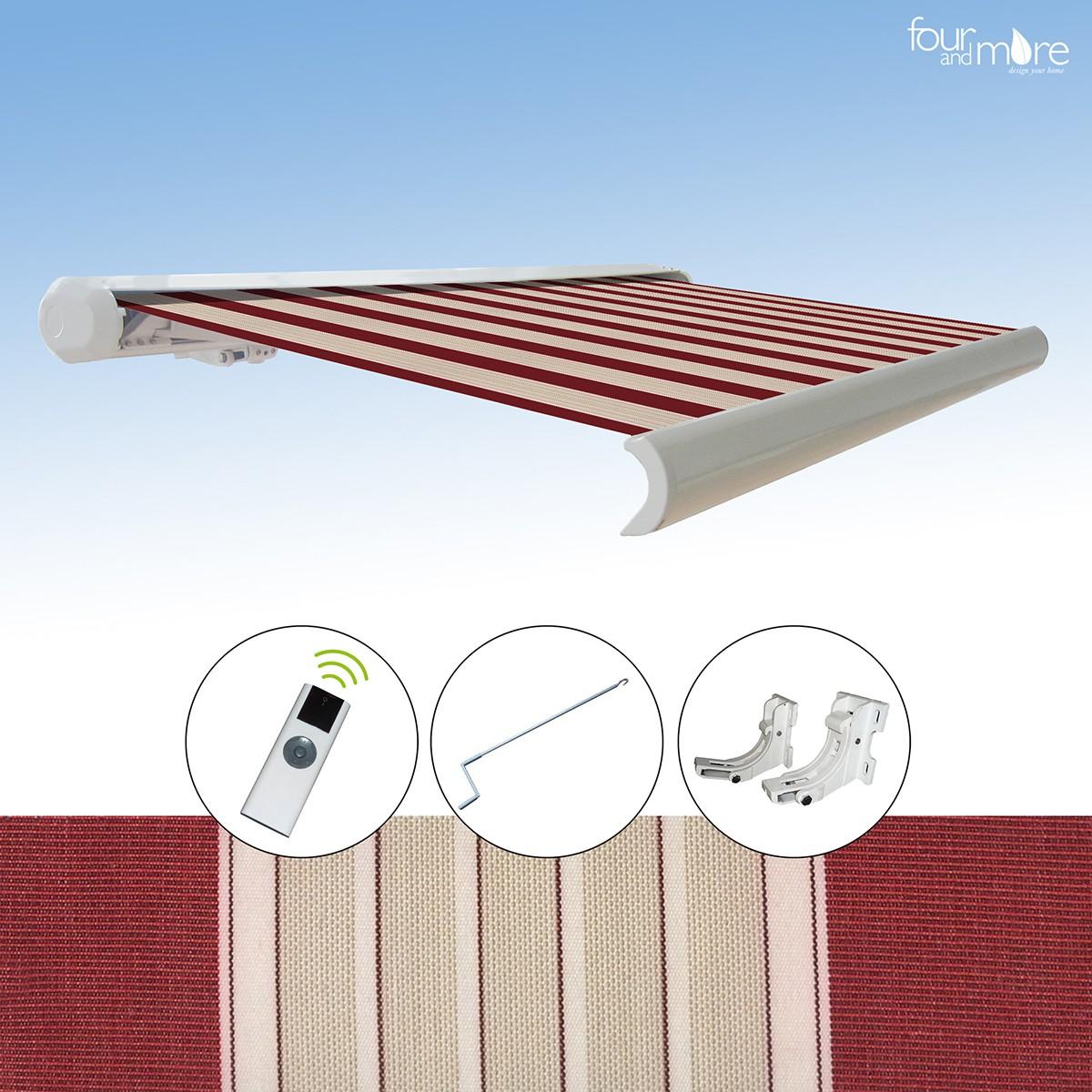 markise 3 5x3 m haus und garten garten sonnenschutz. Black Bedroom Furniture Sets. Home Design Ideas