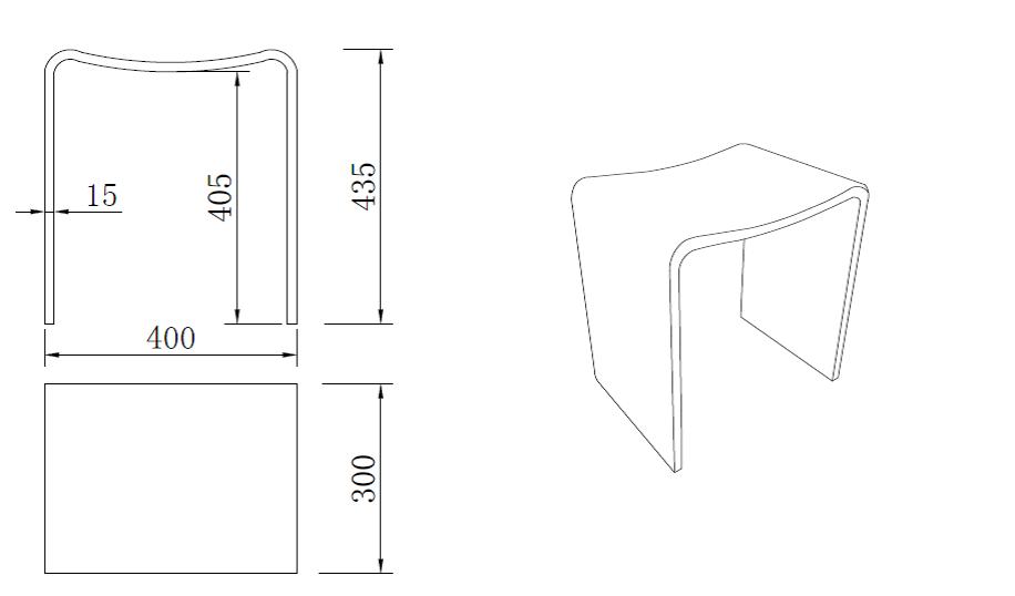 design duschhocker badhocker aus mineralguss duschstuhl badestuhl duschhilfe ebay. Black Bedroom Furniture Sets. Home Design Ideas