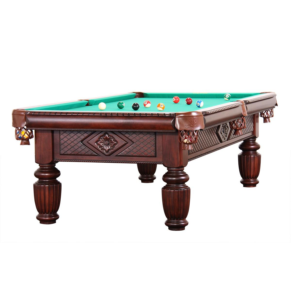 9 Ft Professionelle Pool Billard Table Ardoise Model