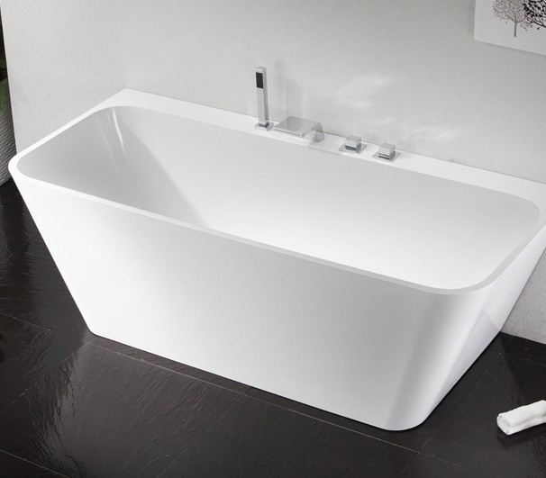 freistehende badewanne aus mineralguss kzoao 0902 badewelt. Black Bedroom Furniture Sets. Home Design Ideas