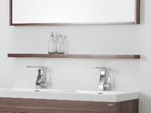 Fesselnd Spiegelablage 100 Cm Nussbaum Badewelt Badezimmer Möbel, Badezimmer