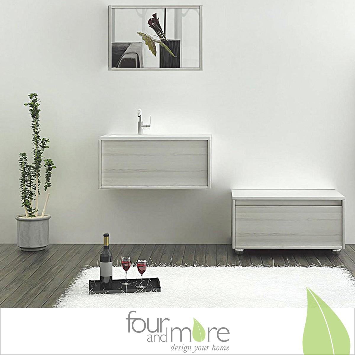 badezimmerserie bern schrank inkl waschbecken mit. Black Bedroom Furniture Sets. Home Design Ideas