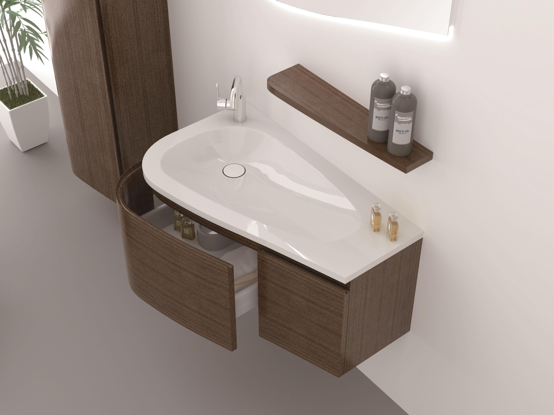 Monaco waschtisch set 90 cm badewelt badezimmer m bel for Badezimmer 90 cm