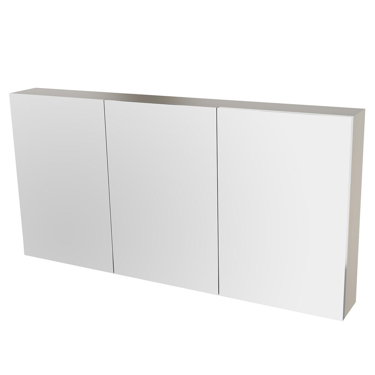 Spiegelschrank 120 cm kernahorn badewelt badezimmer m bel for Spiegelschrank 120