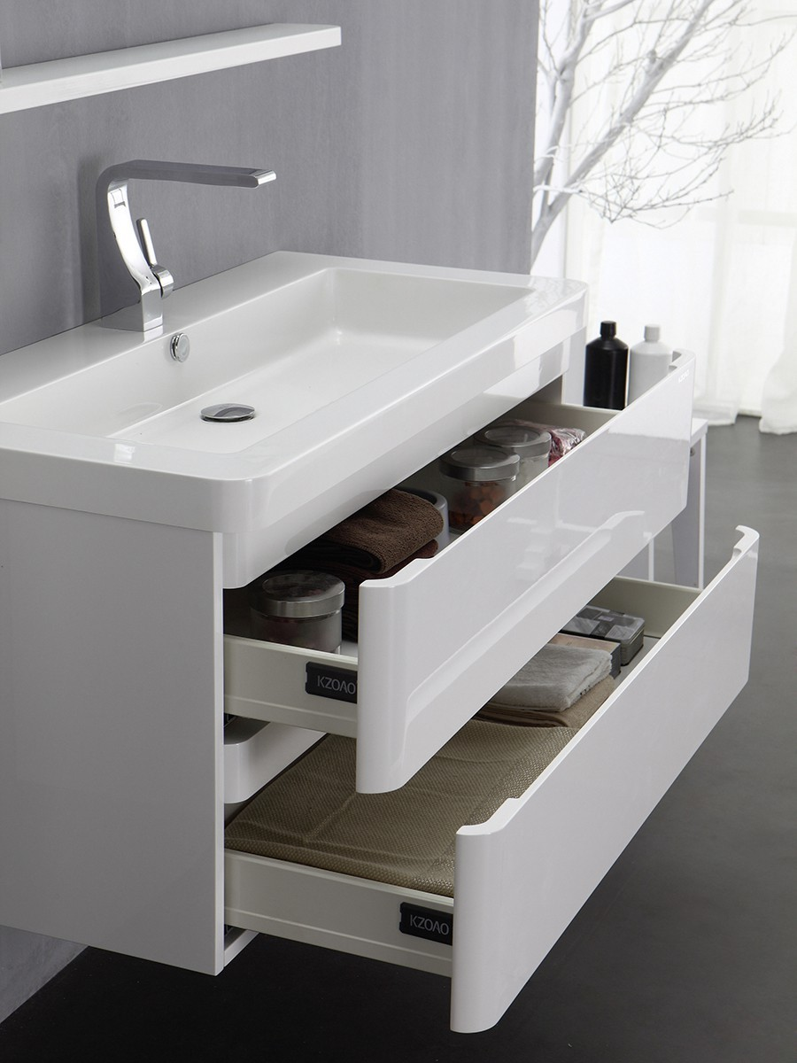Berlin waschtisch set 65 cm wei badewelt badezimmer m bel for Badezimmer berlin