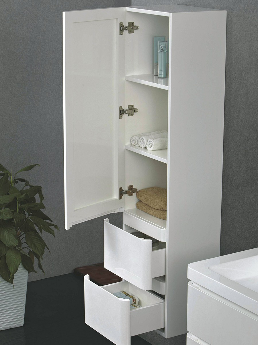 berlin schrank 120 cm wei badewelt badezimmer m bel. Black Bedroom Furniture Sets. Home Design Ideas