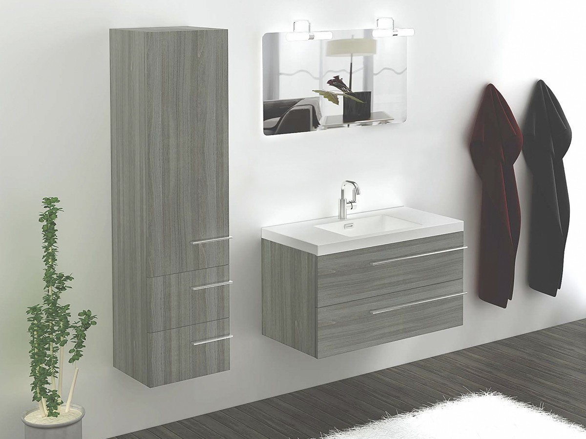 badezimmerserie wien schrank inkl waschbecken 75cm. Black Bedroom Furniture Sets. Home Design Ideas