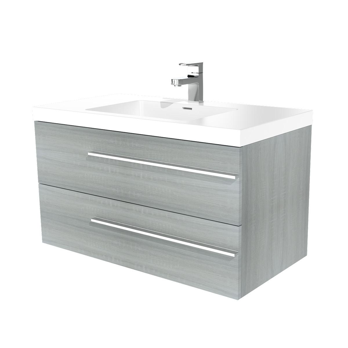 wien waschtisch 100 cm wildeiche badewelt badezimmer m bel. Black Bedroom Furniture Sets. Home Design Ideas