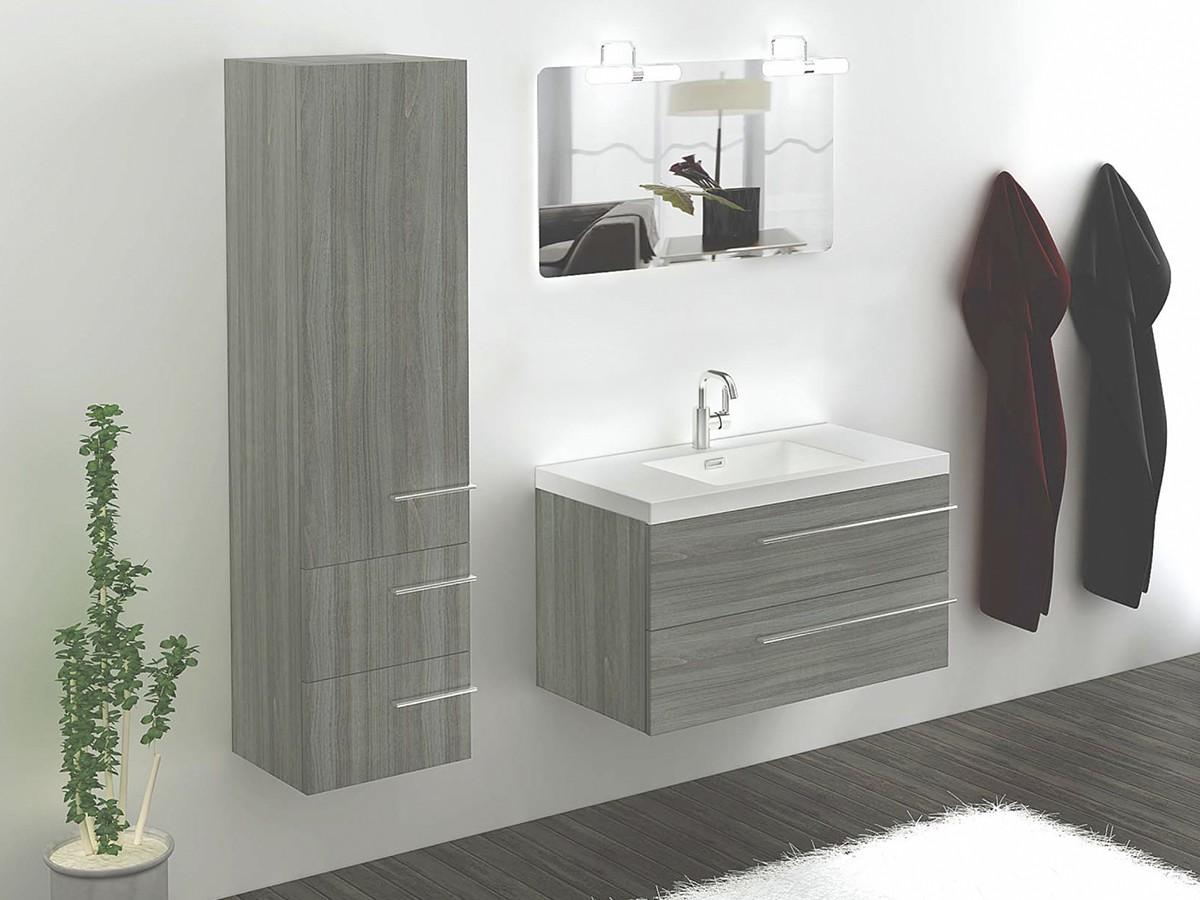 wien waschtisch 100 cm wildeiche badewelt badezimmer möbel, Badezimmer ideen