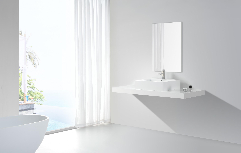 Design aufsatzwaschbecken modell 032 badewelt badezimmer for Badezimmer set design