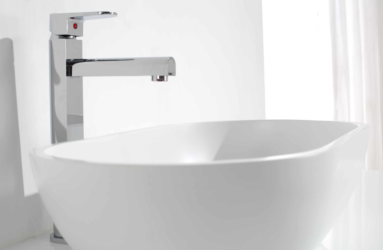 design aufsatzwaschbecken aus kunsstein in matt oder gl nzend modell 1312 ebay. Black Bedroom Furniture Sets. Home Design Ideas
