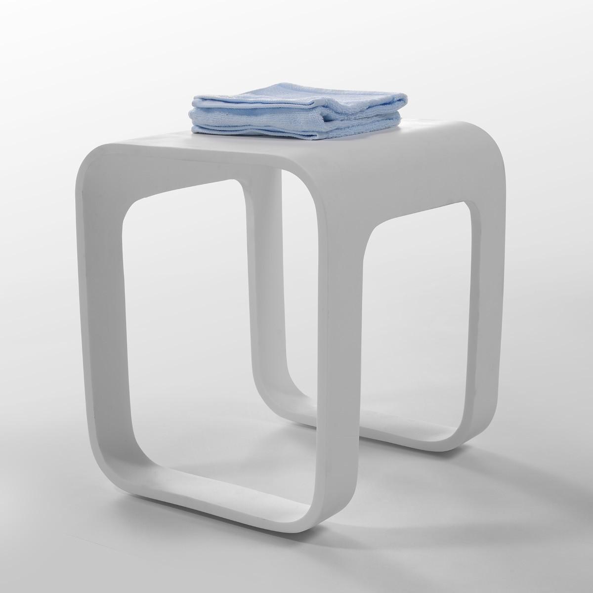 Badhocker design  Design Badhocker aus Mineralguss II Badewelt Badaccessoires