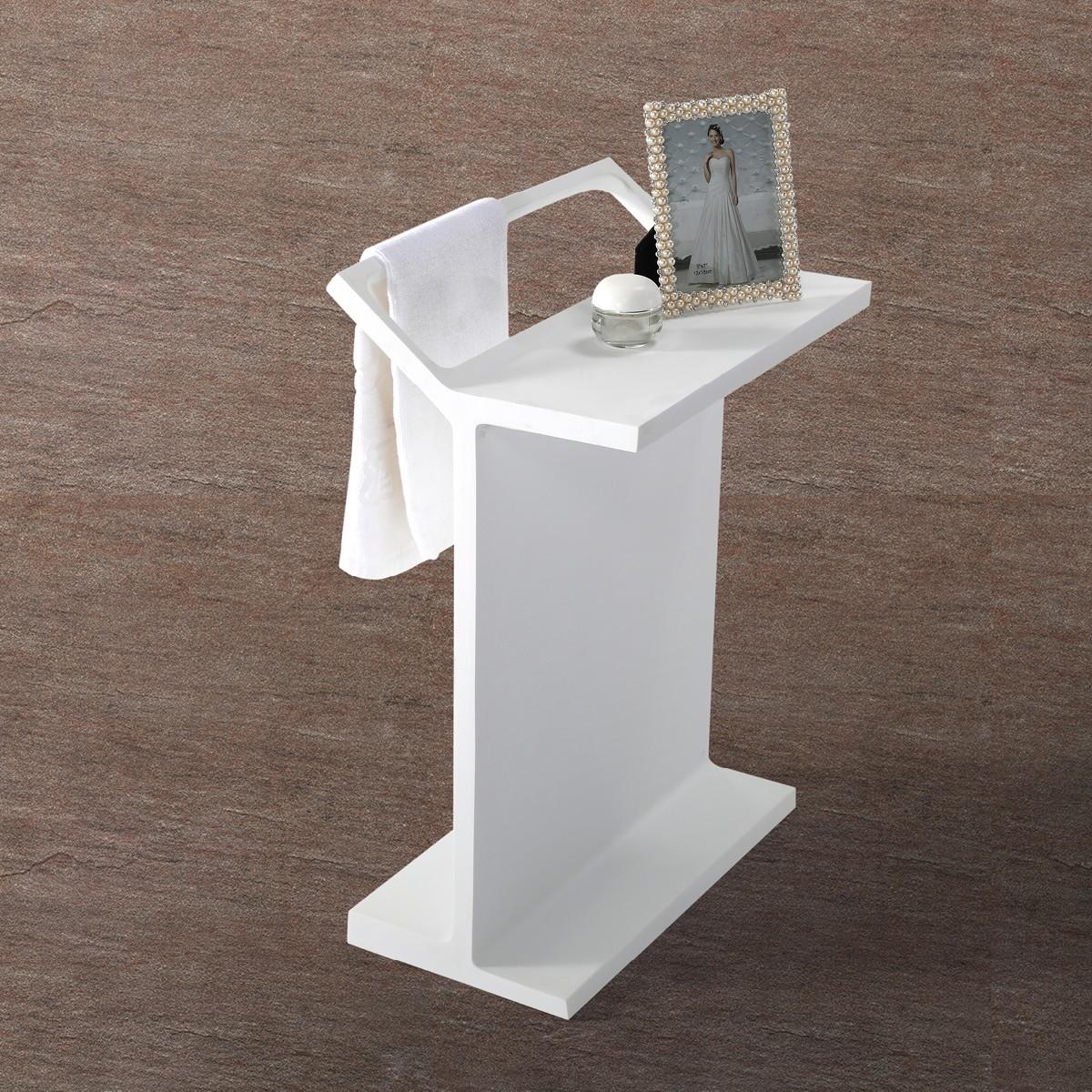 handtuchhalter handtuchst nder freistehend badablage aus. Black Bedroom Furniture Sets. Home Design Ideas