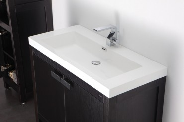 hochwertige badm bel aus vollholz mit mineralguss waschbecken mod barcelona ebay. Black Bedroom Furniture Sets. Home Design Ideas